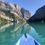 Excursión al Congost de Mont-rebei: en kayak y a pie.