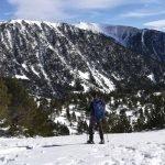Ruta con raquetas de nieve hasta Bastiments.